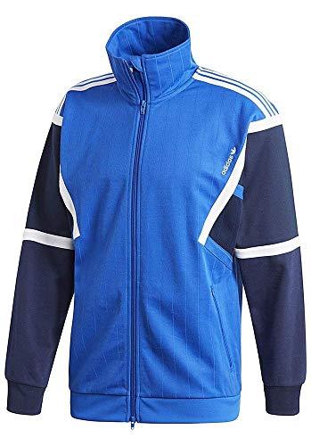 adidas Herren Training Originals Jacke Trainingsjacke, Blue, L