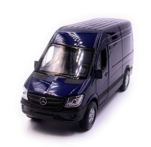 Onlineworld2013 Sprinter Panel Van Blau Modellauto Auto Maßstab 1:34 (lizensiert)