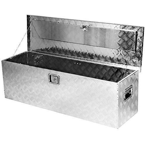 Aluminum Pickup Truck Bed Trailer Key Lock Storage Tool Box Utility 49 Inch