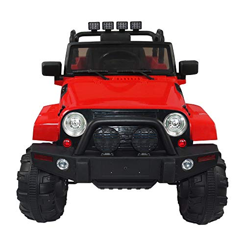 angstep 12V Kids Ride On Car Truck SUV MP3 Kids Electric Car Battery Motorized Cars for Kids with...