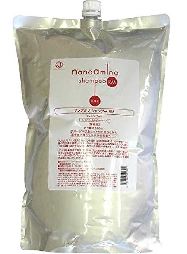発行する体バックグラウンドニューウェイジャパン ナノアミノ シャンプー RM 2500ml レフィル