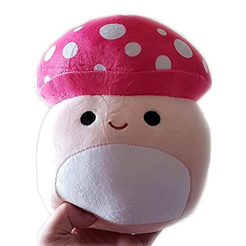Mushroom Plushies Mushroom Stuffed Animals Mushroom Plush Toy Kawaii Anime Plushie Squishy Cute & Soft Great Gift 8inch