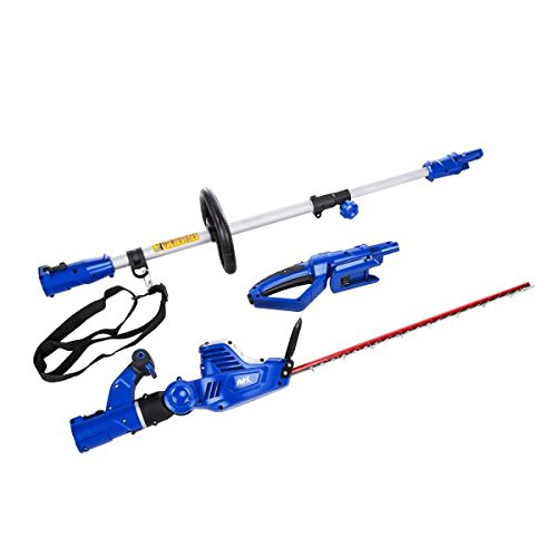 AAVIX 2 in 1 Cordless Lithium-Ion Pole & Handheld Hedge Trimmer /20V 20