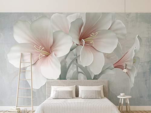 Flor flor Papel tapiz fotográfico personalizado Salón