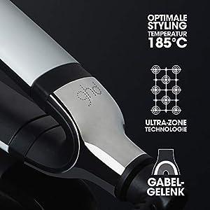 ghd platinum+ Styler, professionelles Glätteisen mit vorausschauender Technologie, weiß