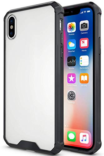 "PEYOU Clear Case Compatible for 5.8"" iPhone X 2017/ iPhone Xs, Premium Slim Case with [Raised Bezels] [Drop-Protection] TPU Bumper and [Anti-Scratch] Hard PC Back"