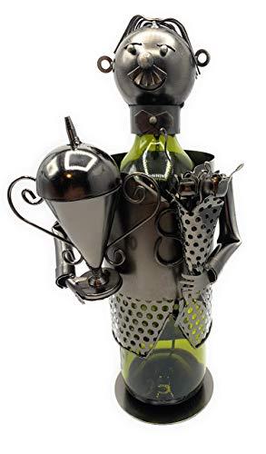 Gilde Soporte para botellas de vino con copa, n.º 65419