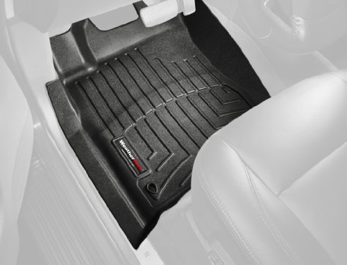 WeatherTech Custom Fit Front FloorLiner for Toyota Yaris/Scion xD (Black)