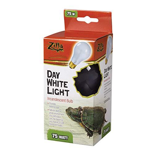 Price comparison product image Zilla Reptile Terrarium Heat Lamps Incandescent Bulb,  Day White,  75W
