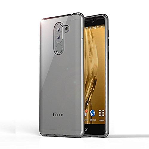 Huawei Honor 6X Hülle, Lanseed Crystal Clear Silikon Schutzhüle für Huawei Honor 6X Case TPU Bumper Cover Hülle Transparent - 5