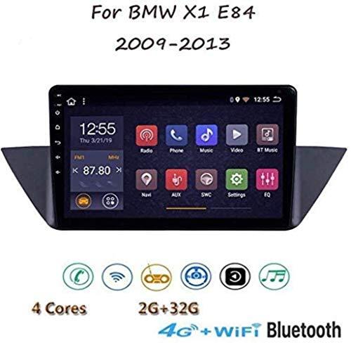 Android schermo della radio di navigazione touch screen da 10'stereo TV 8.1 GPS per BMW X1 E84 2009-2013 con volante Bluetooth chiamate in vivavoce DAB collegamento Specchio MP5 US.