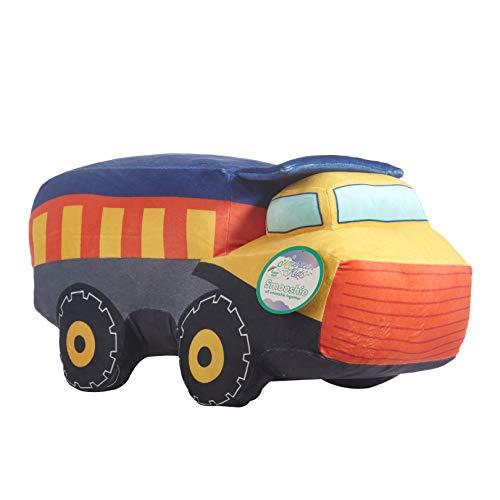 "Heritage Kids Figural Smooshie Super Soft Kids Cozy Plush Pillow Toy Car, Truck,10""x16""x10"