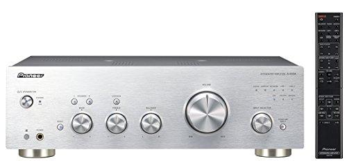 Pioneer A-50DA-S stereo versterker/converter (aluminium front, 2X 90 watt, USB D/A-converter, speaker A/B-schakeling, Loudness functie) zilver