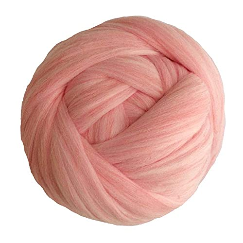 Chunky Yarn 1000g 2.2Lb / Ball Super Chunky Yarn Bulky Roving Yarn Mano/Brazo Tejer Manta De Manta...