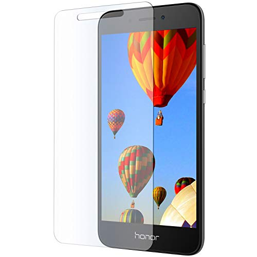 MYCASE 1x Bildschirmschutz Folie für Huawei Honor 6A | Echt Glas | 0,3 mm Dünn
