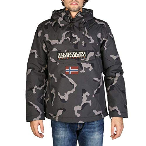 Napapijri Rainforest Camou, Chaqueta, Multicolor (Fantasy F84), X-Small para Hombre