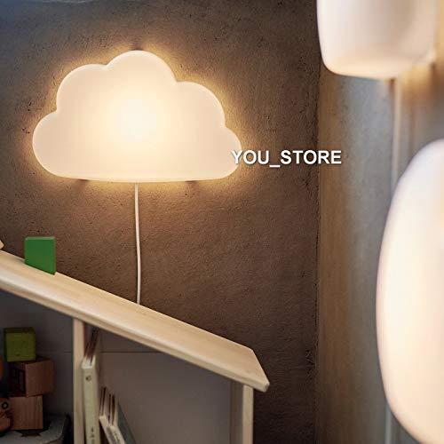IKEA UPPLYST LED wandlamp wolk wit kinderkamer