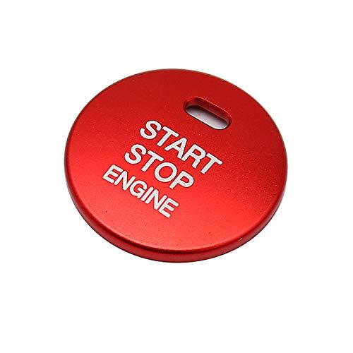 Lfldmj Auto Motor Push Start Stop Taste Abdeckung Kappe Verkleidung, Für Mazda 2 3 6 CX-3 CX-4 CX-5 CX-9 MX-5 Zündstartschalter Knopf Knopf St.