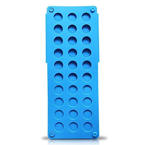 Unbekannt 365589 D&S Vertriebs - Tabla para doblar ropa, color azul, plástico