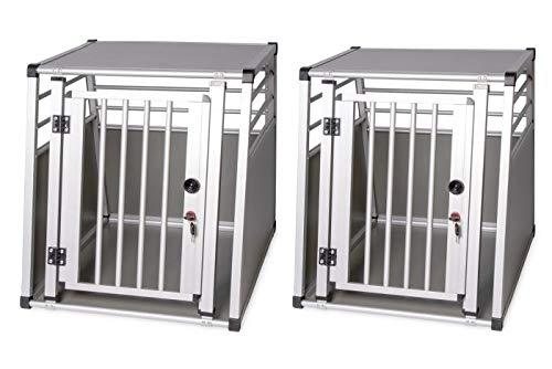 Karlie K Aluminiumbox für Hunde, 82 x 65 x 66 cm, 300 g
