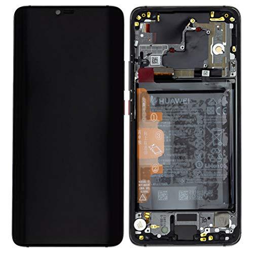 Service reserveonderdeel LCD Display digitizer scherm met frame accu voor Huawei P20 Pro zwart 02351WQK