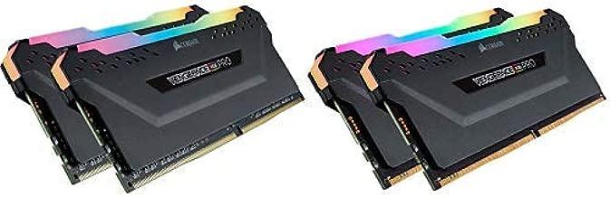 CORSAIR VENGEANCE RGB PRO 16GB (2x8GB) DDR4 3200MHz C16 LED Desktop Memory - Black with VENGEANCE RGB PRO Light Enhancement Kit (memory not included) – Black