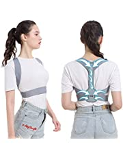 Innoo Tech Posture Corrector for Men And Women, Upper Back Brace for Clavicle Support and Back Pain Relief-Breathable