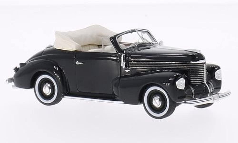 OPEL KAPITAN HEBMULLER CONverdeIBLE 1940 nero 1 43 Neo Scale modellos Auto Stradali modellololo modellololino die cast