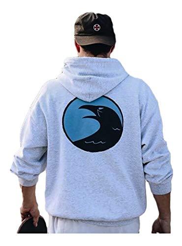 OLLIE TRICK SKATESHOP logo hoodie sweatshirt met capuchon en skateboard
