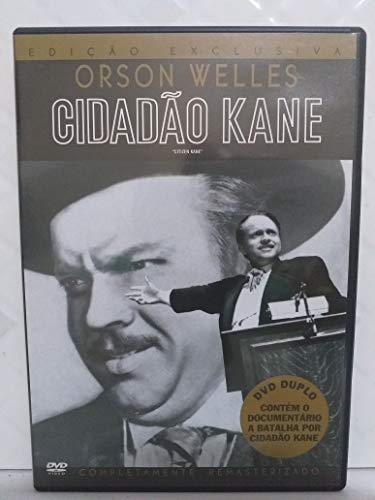 CIDADÃO KANE EDIÇÃO EXCLUSIVA DUPLO