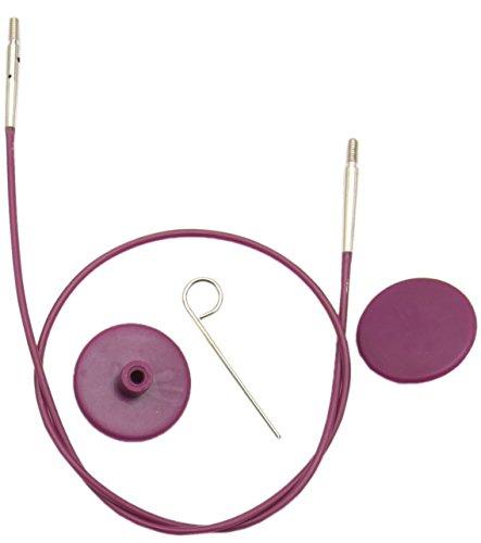 KnitPro Options Seil für Nadeln - 60cm Gesamtlänge (Seil + Nadelspitzen)