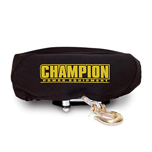 Champion Weather-Resistant Neoprene Storage Cover for Winches 4000-5000 lb.