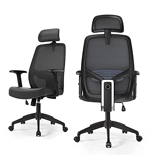 Ergonomic Office Chair Computer Desk Chair High Back Executive Swivel Chair Breathable Mesh Chair...