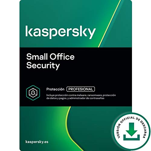 Kaspersky Small Office Security | 6 Dispositivios 6 Móviles 1 Servidor | 1 Año | PC / Mac / Android / Servidor | Código de activación vía correo electrónico