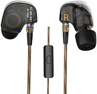 Earphones KZ ATE HIFI Bass Noise Isolating Stereo Sport In Ear Earphones (With Mic)