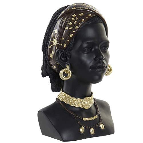 Zen et Ethnique Dekofigur Afrikanische Frau, 30 cm