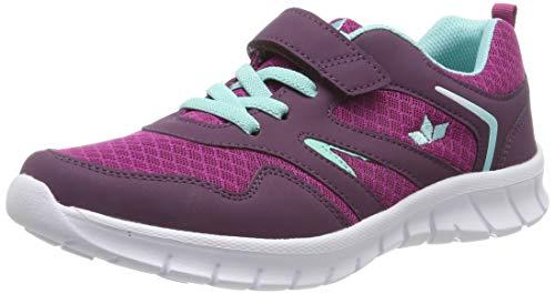 Lico Damen Skip VS Sneaker, Violett (Lila/Türkis Lila/Türkis), 36 EU