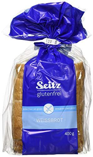 Seitz glutenfrei Weißbrot, geschnitten, 4er Pack (4 x 400 g)