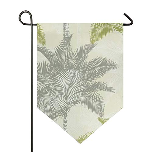 MONTOJ Arthouse Sophie Conran Fiji Palm Citrusbomen Thuis Zoete Thuis Tuin Vlag Verticale Dubbelzijdige Yard Outdoor Decoratieve