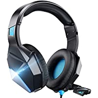 Soulsens 7.1 Surround Sound Stereo Gaming Headset with Noise Canceling Mic & LED Light
