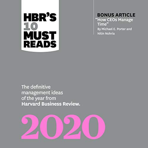 HBRs 10 Must Reads 2020 cover art