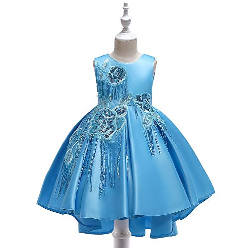QiHaoHeji Vestito Da Festa per Ragazze Vestido for niños niñas Vestido de...
