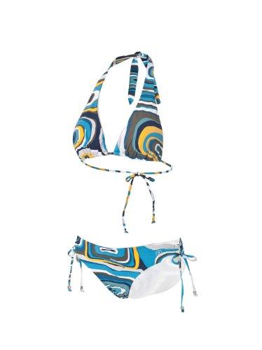 Bogner Fire + Ice Damen Bikini Tizia, océano, XL, 7444-4340