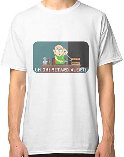 S-O-U-T-H-P-A-R-K Retard Alert Mr Garrison Classic T-Shirt, Hoodie, Sweatshirt, Tank Tops Basic Novelty Tees Graphics Female Cotton Printed Teens Awesome Vintage Classic Love Shirt