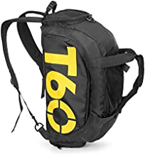 Sport Small Gym Bag with Shoes Compartment Waterproof Travel Duffel Bag for Women and Men