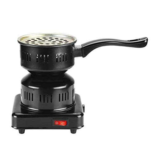Dough.Q Quemador eléctrico de carbón de Acero Inoxidable, Encendedor de carbón eléctrico,...