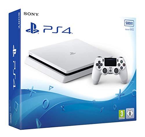 PS4 500 Go F White + Manette 2ème DualShock PS4 - blanc