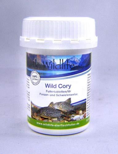 Wildlife Wild Cory Natürliche Futtertabletten für Panzer- und Schwielenwelse, 45 g