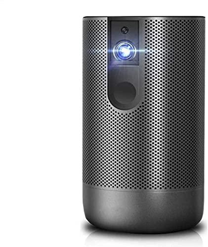 Mini proyector portátil LED 4K HD Proyector 300 lúmenes Proyector de películas Inteligente para el hogar y el Exterior