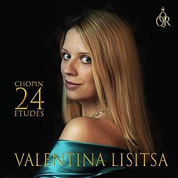 Frédéric Chopin 24 Etudes